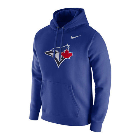 NIKE MEN S TORONTO BLUE JAYS FRANCHISE HOODIE BLUE 12a01e489