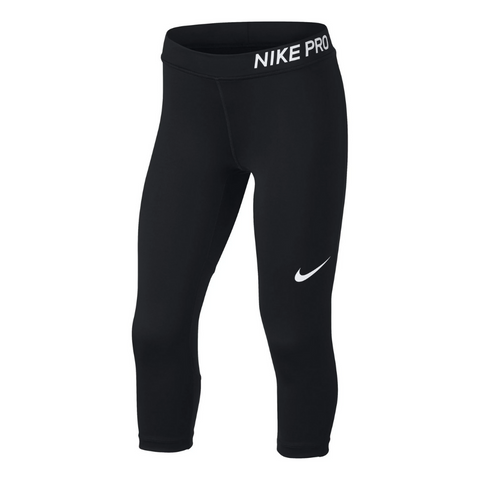 NIKE GIRLS CAPRI BLACK