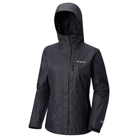 COLUMBIA WOMEN'S POURING ADVENTURE II JACKET BLACK