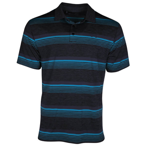 UNDER ARMOUR MEN'S PLAYOFF POLO TOP BLACK
