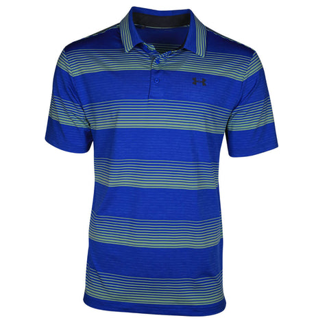 UNDER ARMOUR MEN'S PLAYOFF POLO MEDITERRANEAN