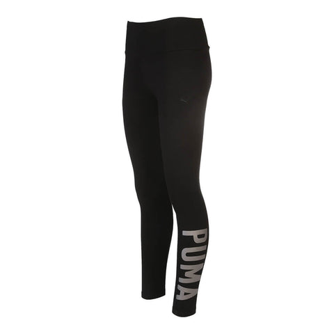PUMA WOMEN'S ATHLETIC LEGGING BLACK/SILVER