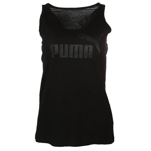 PUMA WOMEN'S SPORTY NO.1 TANK COTTON BLACK