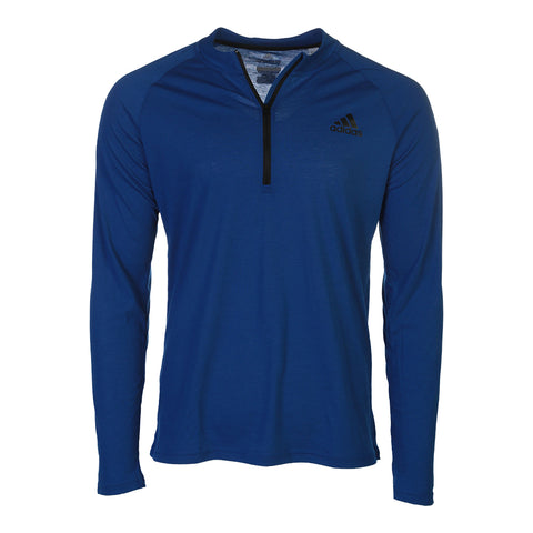 ADIDAS MEN'S ULTIMATE 1/2 ZIP TOP ROYAL