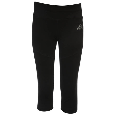 ADIDAS GIRLS TECHFIT 3/4 TIGHT BLACK