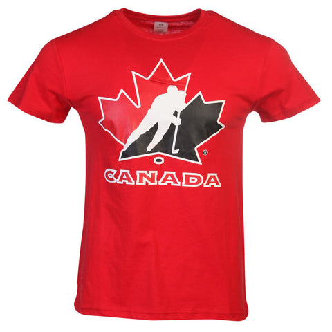 GERTEX MEN'S TEAM CANADA LOGO TEE RED