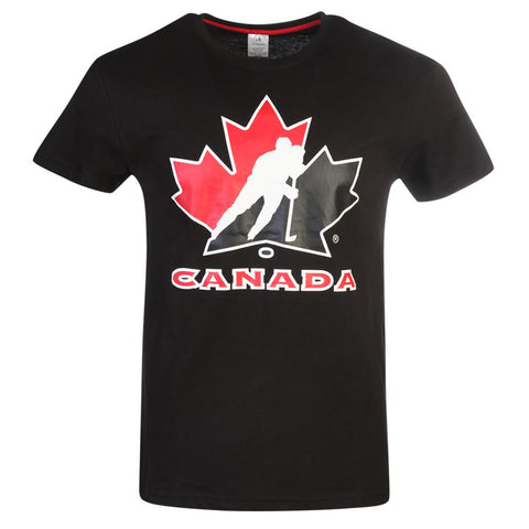 GERTEX MEN'S TEAM CANADA LOGO TEE BLACK