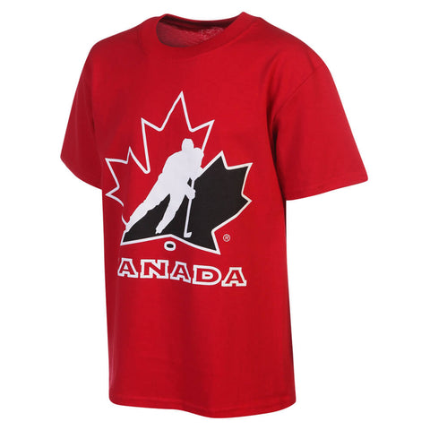 GERTEX YOUTH TEAM CANADA LOGO TEE RED