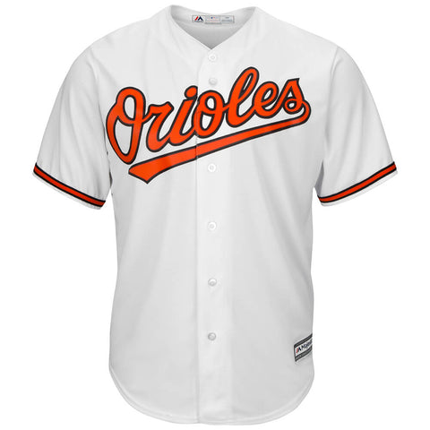 MAJESTIC MEN'S BALTIMORE ORIOLES COOLBASE JERSEY WHITE