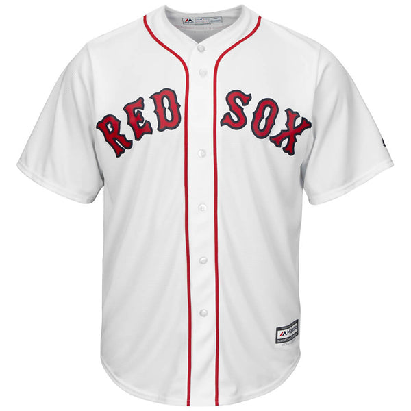 free shipping 6f65a 768fd MAJESTIC MEN'S BOSTON RED SOX COOLBASE JERSEY WHITE
