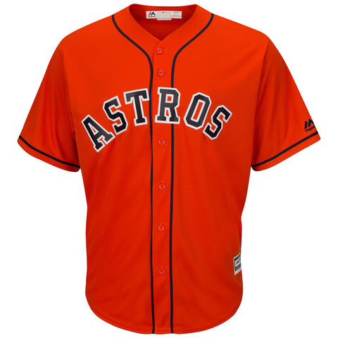 MAJESTIC MEN'S HOUSTON ASTROS COOLBASE JERSEY ORANGE