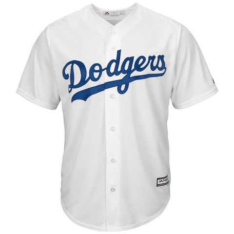 MAJESTIC MEN'S LOS ANGELES DODGERS COOLBASE JERSEY WHITE