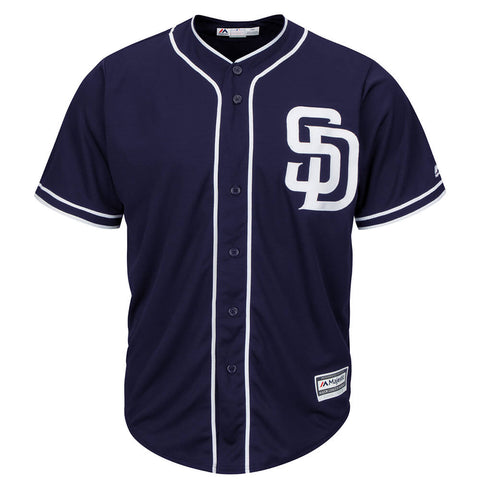 MAJESTIC MEN'S SAN DIEGO PADRES COOLBASE JERSEY NAVY