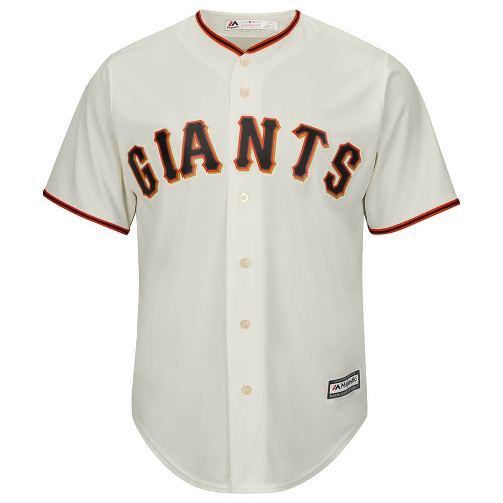 finest selection 7c943 c8943 MAJESTIC MEN'S SAN FRANCISCO GIANTS COOLBASE JERSEY IVORY