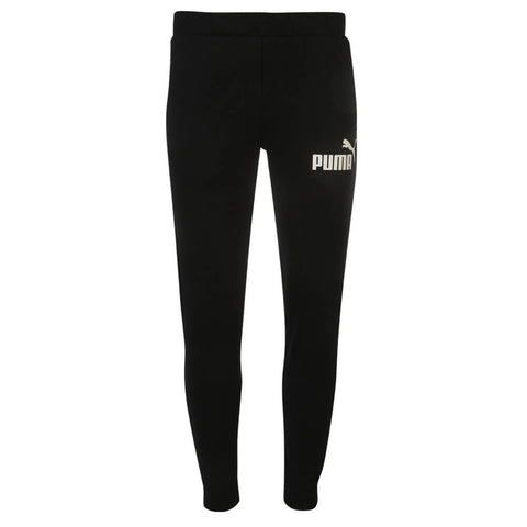 PUMA MEN'S ESS #1 SWEAT PANT BLACK