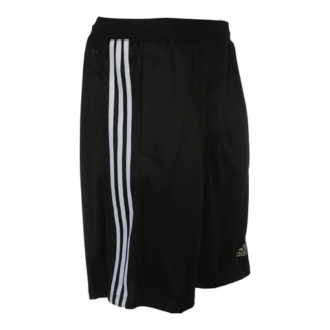 ADIDAS MEN'S D2M 3 STRIPE SHORT BLACK