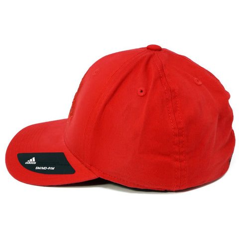 ADIDAS MEN'S TFC STRUCTURED FLEX HAT RED