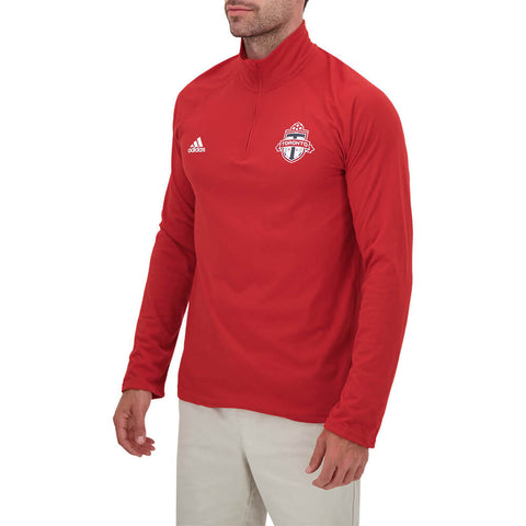 ADIDAS MEN'S TFC 1/4 ZIP TOP