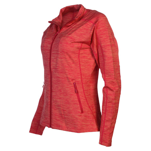 LEVELWEAR WOMEN'S ATLANTIS FULL ZIP JACKET CORAL RUBY