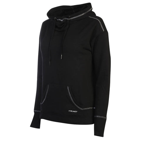 HEAD WOMEN'S APRES SKI SLOUCHY HOODY BLACK