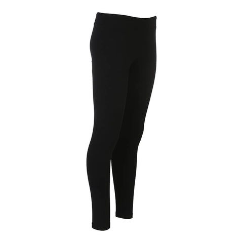 SIMPLY FIT ATHLETICS WOMEN'S BASIC LEGGINGS BLACK
