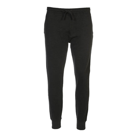 SIMPLY FIT ATHLETICS MEN'S FLEECE JOGGER CHARCOAL MELANGE