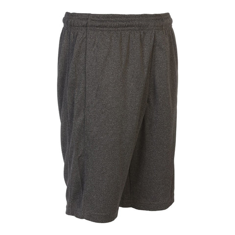 SIMPLY FIT ATHLETICS BOYS 9'' TECH SHORT DARK GREY