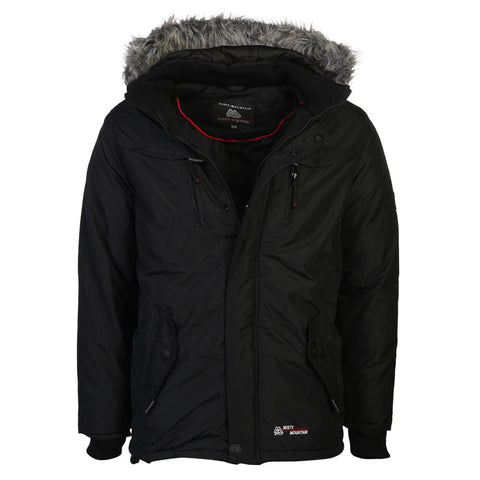 MISTY MOUNTAIN MEN'S QUASAR INSULATED JACKET BLACK