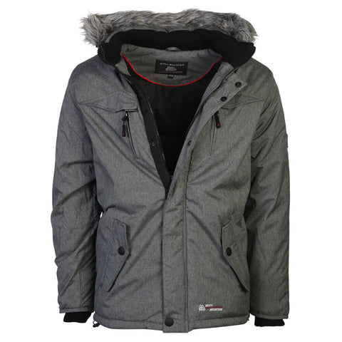 MISTY MOUNTAIN MEN'S QUASAR INSULATED JACKET GREY MELANGE