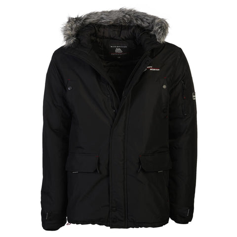 MISTY MOUNTAIN MEN'S ROGUE INSULATED JACKET BLACK