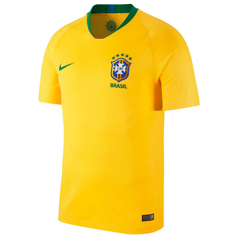 NIKE MEN'S BRASIL HOME JERSEY SAMBA GOLD