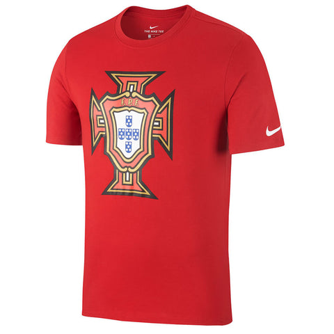 NIKE MEN'S PORTUGAL EVERGREEN CREST TOP RED