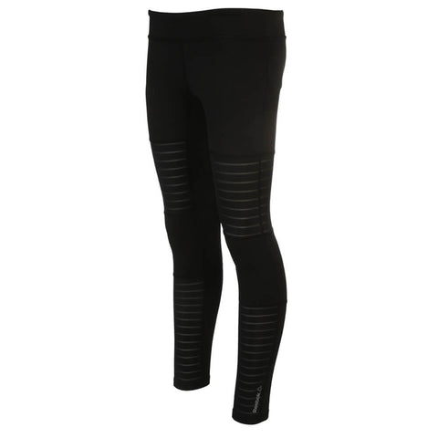 REEBOK WOMEN'S DANCE MESH TIGHT BLACK