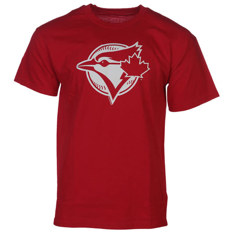 BULLETIN MEN'S TORONTO BLUE JAYS SECONDARY LOGO TOP RED
