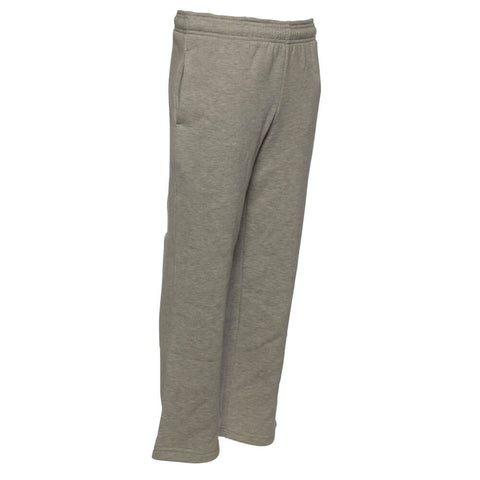 REEBOK BOYS FLEECE OPEN HEM PANT GREY