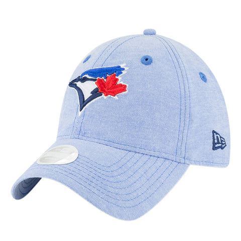 NEW ERA WOMEN'S TORONTO BLUE JAYS TEAM LINEN CAP OTC