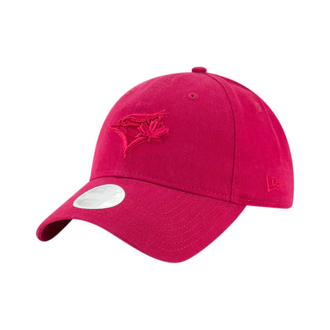 NEW ERA GIRLS TORONTO BLUE JAYS PREFERRED PICK CAP DARK ROSE