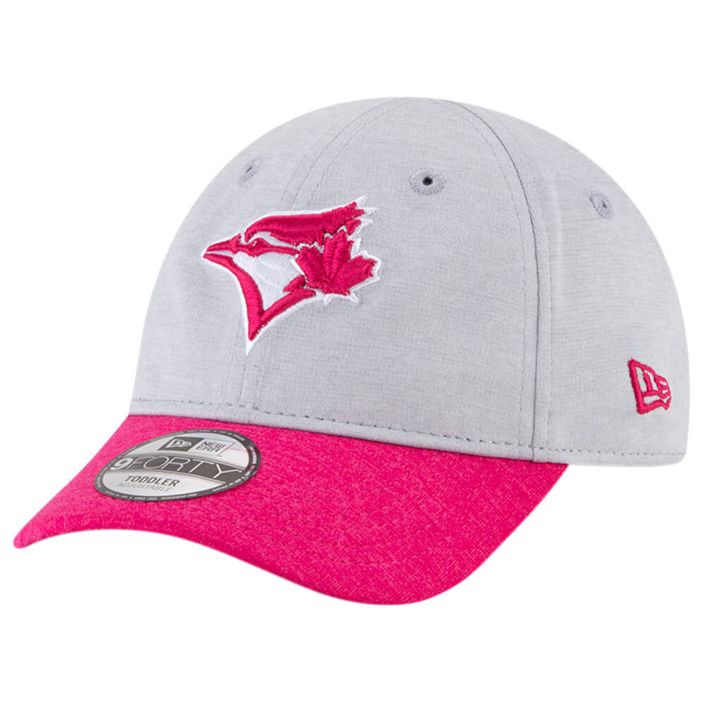 d0ba2bb6c3f NEW ERA INFANT GIRLS TORONTO BLUE JAYS SHADOWED 940 CAP PINK ...