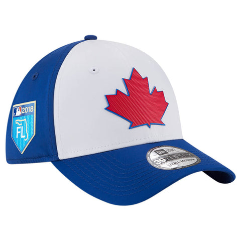 NEW ERA MEN'S TORONTO BLUE JAYS 3930 BATTING PRACTICE CAP WITH SPRING TRAINING PATCH