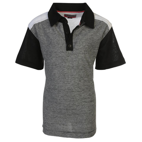 BURNSIDE BOYS POLO GREY