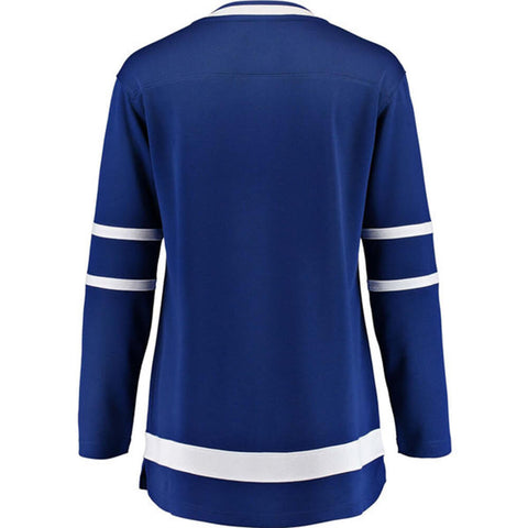 FANATICS WOMEN'S TORONTO MAPLE LEAFS REPLICA HOME JERSEY BLUE