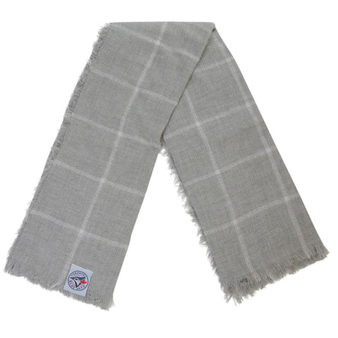 GERTEX WOMEN'S TORONTO BLUE JAYS BLANKET SCARF GREY