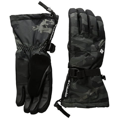 COLUMBIA MEN'S WHIRLIBIRD GLOVE BLACK CAMO