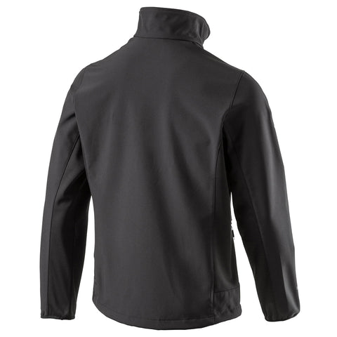 MCKINLEY MEN'S LUSAKA II SOFTSHELL JACKET BLK
