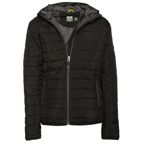 MCKINLEY BOYS' RICON DOWN LOOK JACKET SOLID BLACK