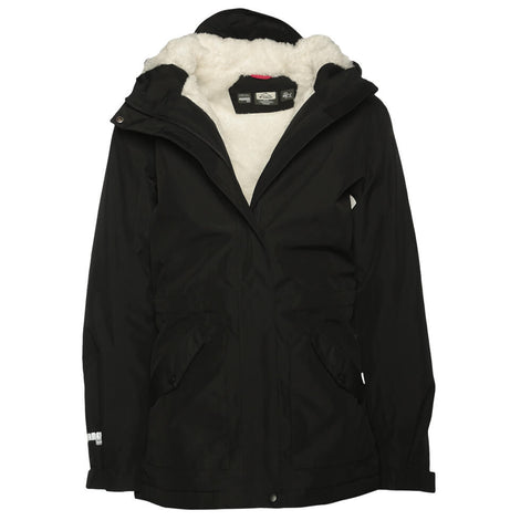 MCKINLEY GIRLS' MILLA PARKA SOLID BLACK