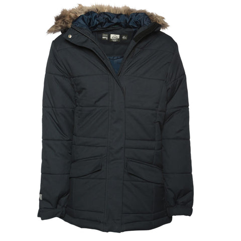 MCKINLEY GIRLS' KERRY II DOWN LOOK PARKA BLACK IRIS