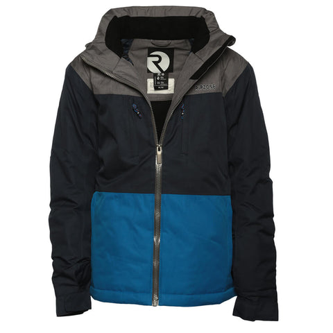 RIPZONE BOYS' CALI INSULATED JACKET ANTHRACITE