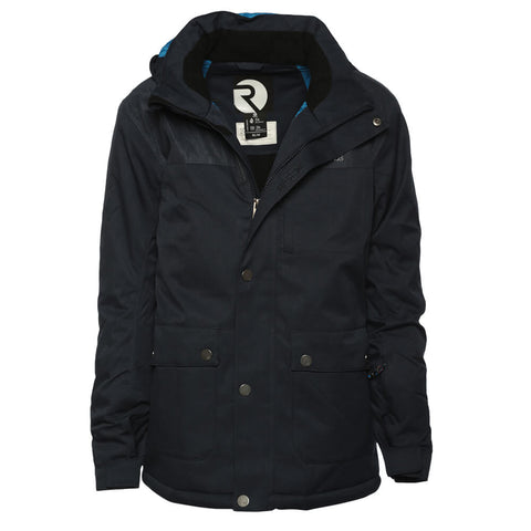 RIPZONE BOYS' CHRISTIAN INSULATED JACKET NAVY DARK