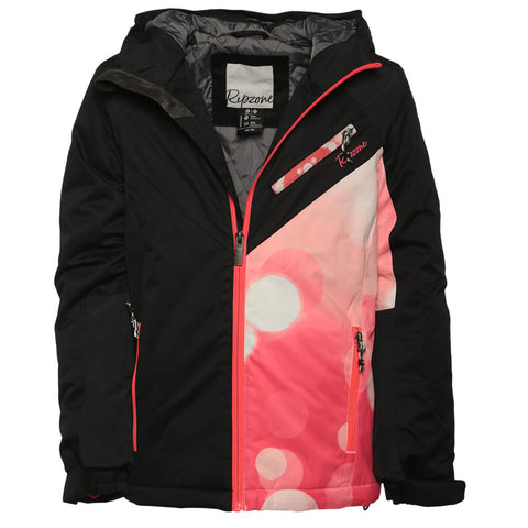 RIPZONE GIRL'S ALY INSULATED JACKET BLACK